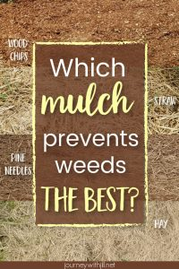 which mulch prevents weeds the best