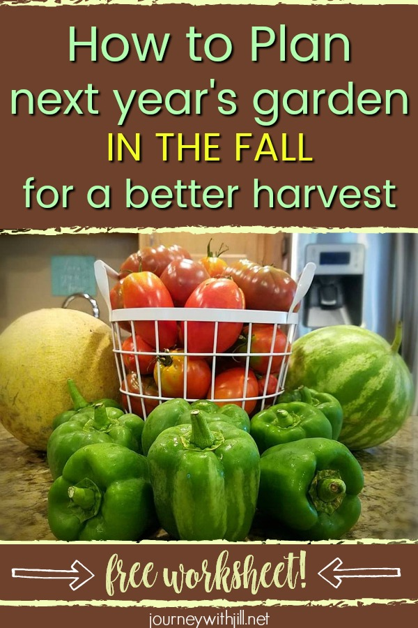 How to Plan Next Year's Garden in the Fall for a Better Harvest