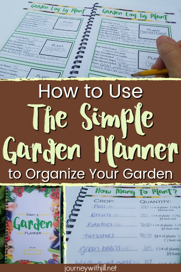 Use the Simple Garden Planner for Garden Organization