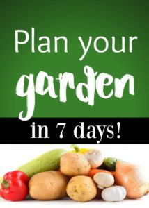 Plan Your Garden in 7 Days