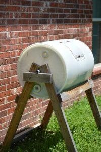 Backyard Composting Tumbler