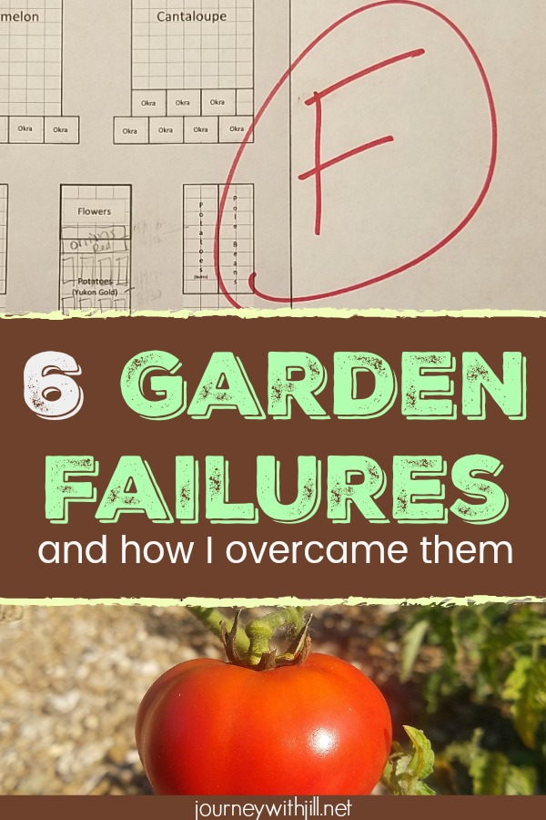 6 Garden Failures and How I Overcame Them