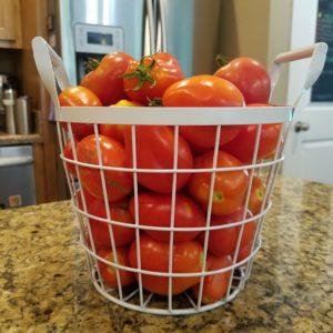 organic roma tomatoes