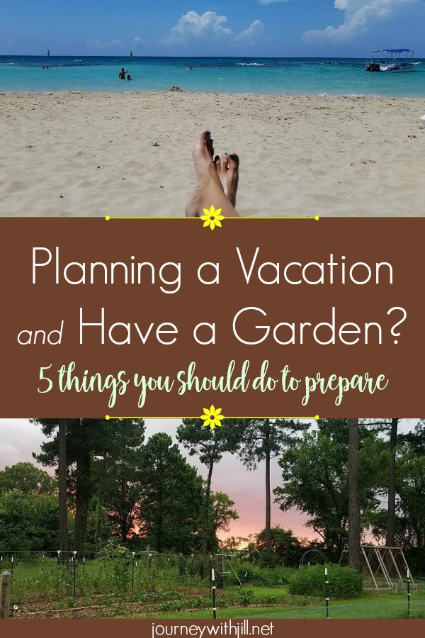 5 Ways to Prepare Your Garden Before You Go on Vacation