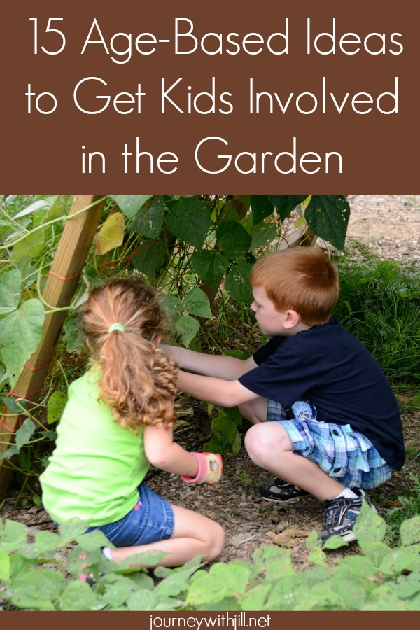 15 Age-Based Ideas to Get Kids Involved in the Garden