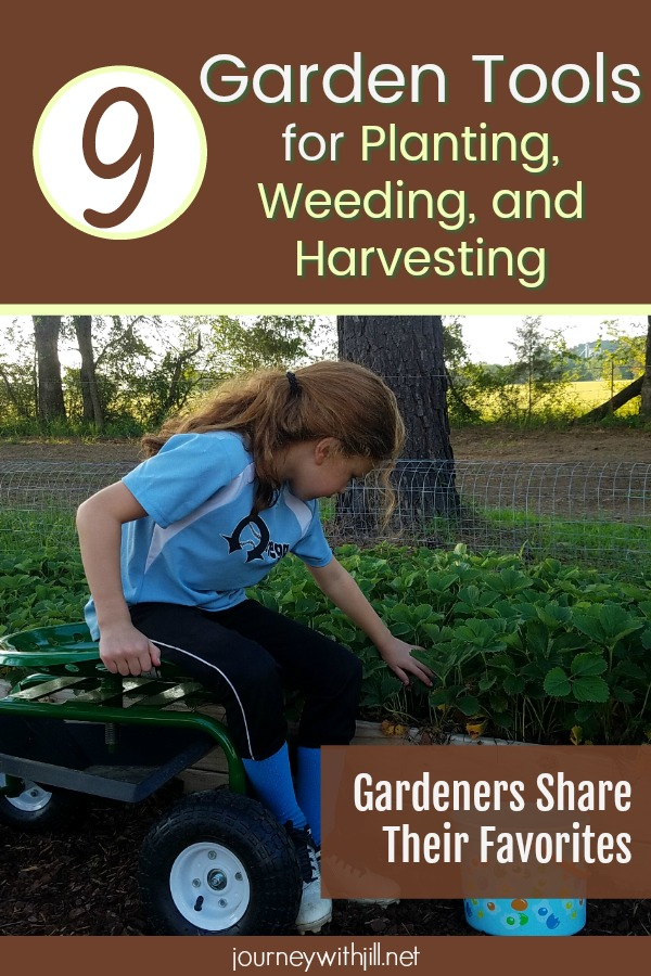 Garden Tools for Planting, Weeding, and Harvesting