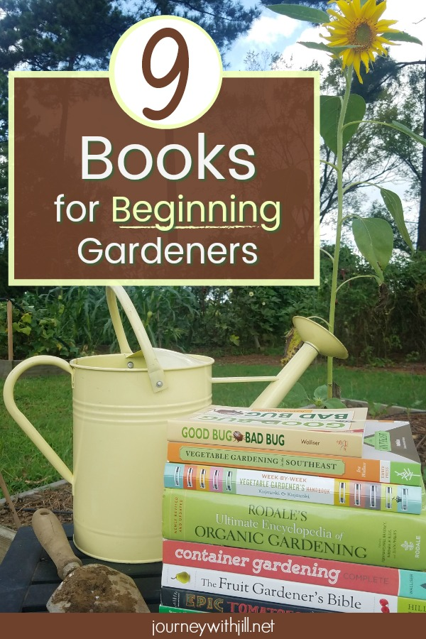 9 Books for Beginning Gardeners