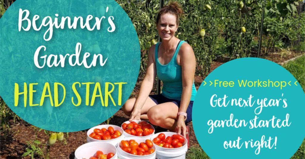 beginner's garden head start free training