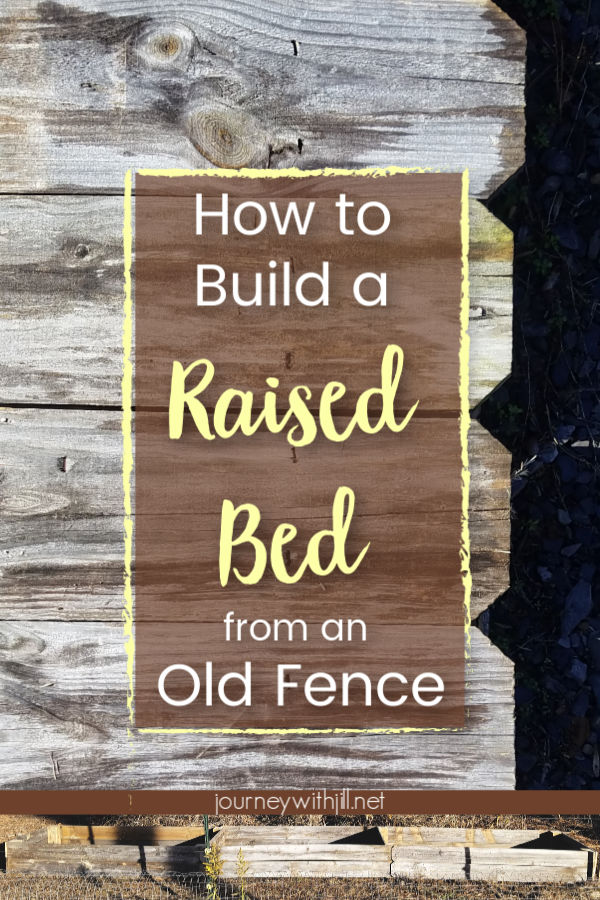 How to Build a Raised Garden Bed from an Old Fence