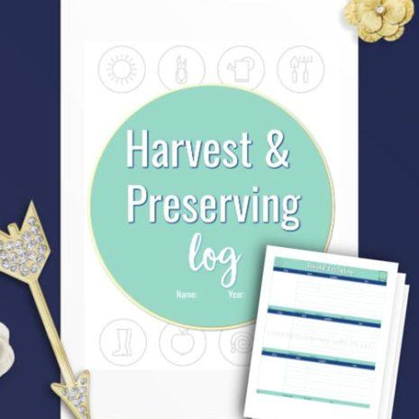 harvest-and-preserving-log