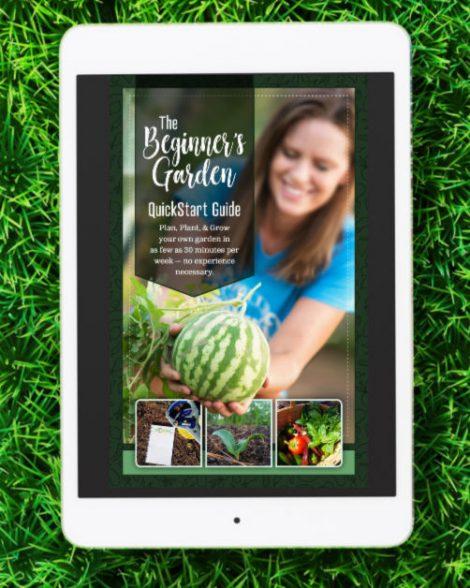 Beginner's Garden QuickStart Guide E Book