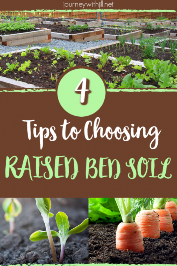 So you've built your raised beds. Now what? Your DIY project is ready for the next step! What kind of soil is best for your garden on your budget? Listen to these 4 simple tips to get on the right track for your vegetable garden. #beginnersgarden #vegetablegarden #raisedbeds #simple #DIY