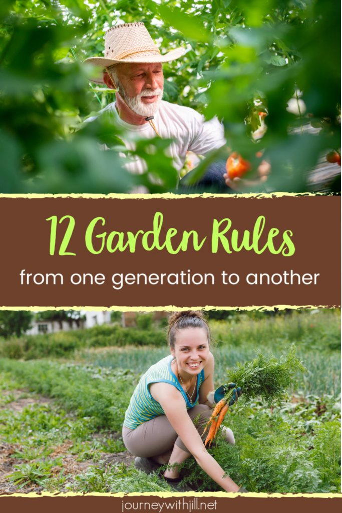 12 Garden Rules from One Generation to the Next