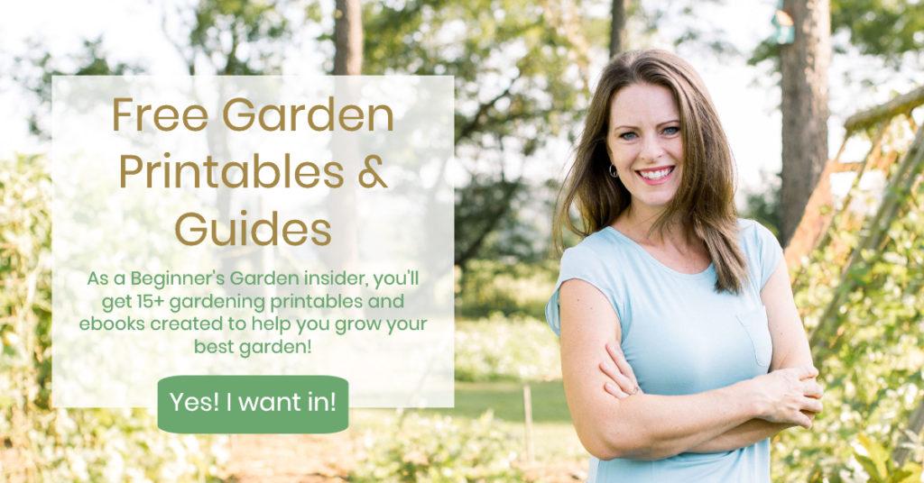 Free Garden Printables
