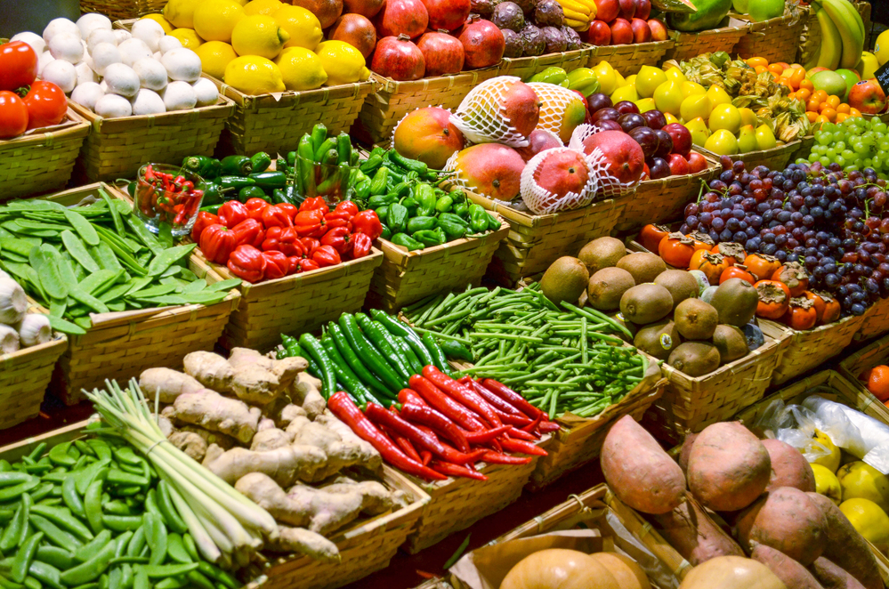 grocery store vegetables not bred for flavor