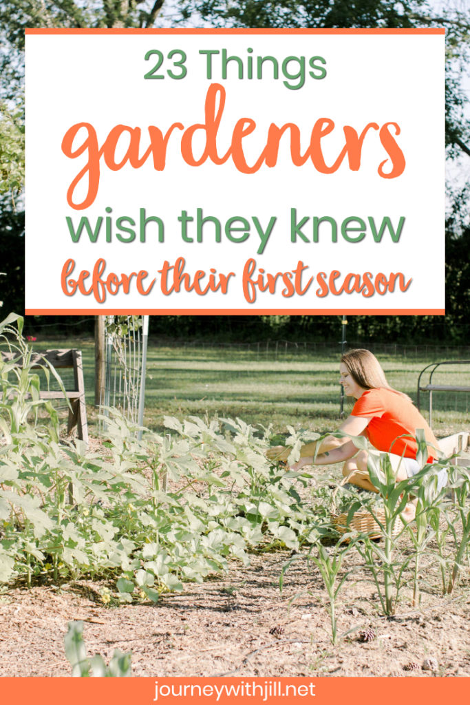 Are you a beginning gardener? Want to ask experienced gardeners for their best advice? I did! Hear what these gardeners wish they had known before their first season!