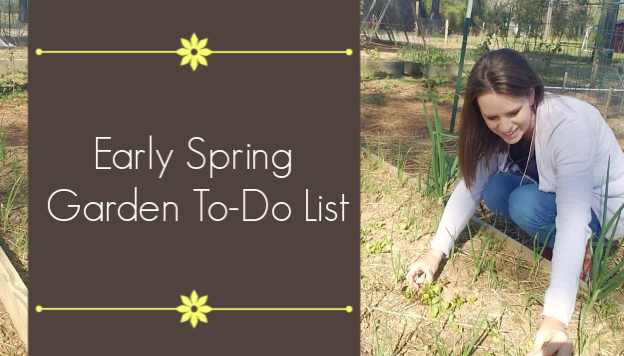 Early Spring Garden Checklist
