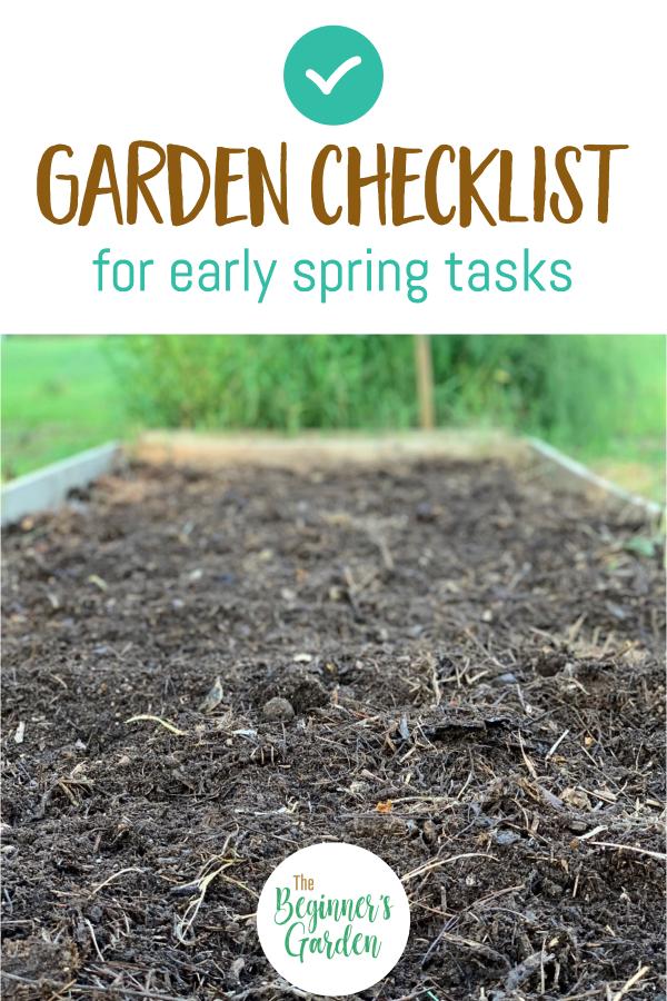 Early Spring Garden Checklist