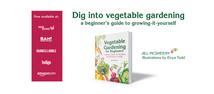 vegetable gardening for beginners book available