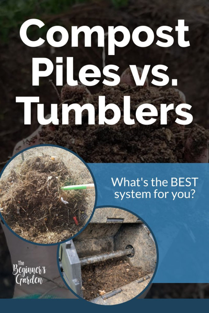 Compost Piles vs. Tumblers