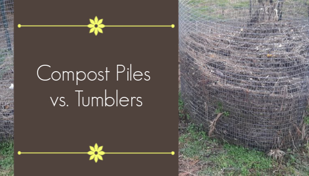 Compost Piles vs. Tumblers