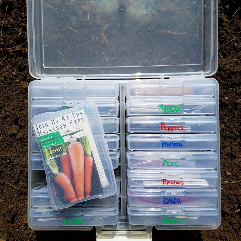 Photo Box for Seed Storage