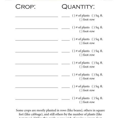 The Simple Garden Planner Printable Download