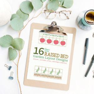 Raised Bed Garden Layout Designs