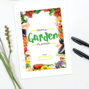 The Simple Garden Planner Printable Download