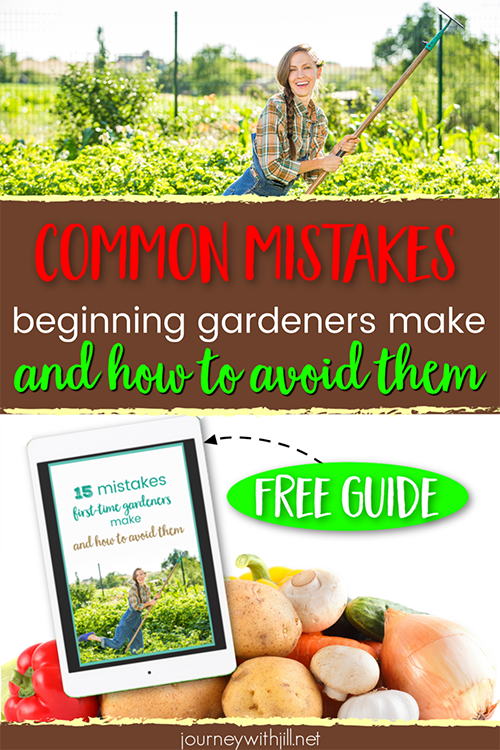 15 Mistakes First Time Gardeners Make