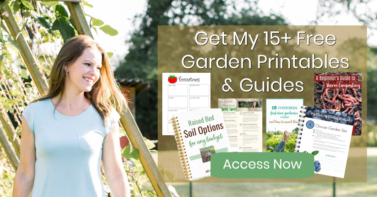 Get my 15+ Free Garden Printables and Guides