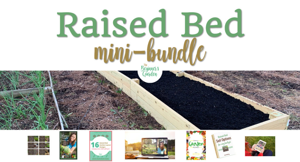 Raised Bed Mini-Bundle by Journey with Jill